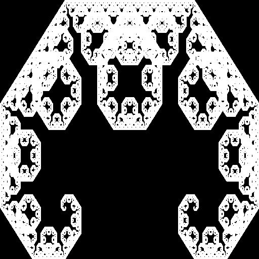 The Lévy fractal