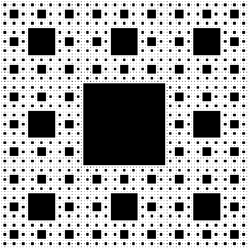 The Sierpinski carpet