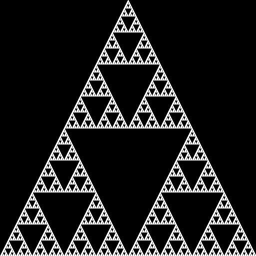 Sierpinski-triangeln